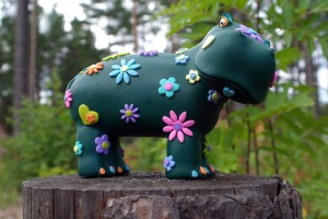 Happy HIppie Hippo