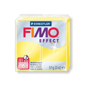 104 Yellow Translucent Fimo