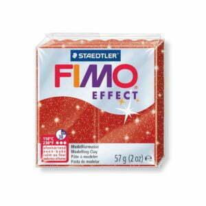 202 Red Glitter Fimo