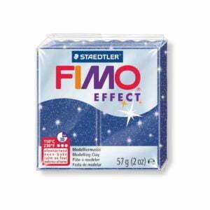 302 Blå Glitter Fimo
