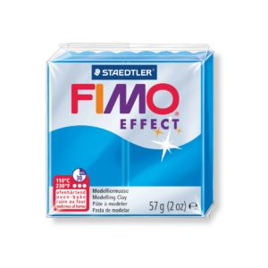 374 Blue Translucent Fimo