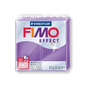 604 Purple Translucent Fimo
