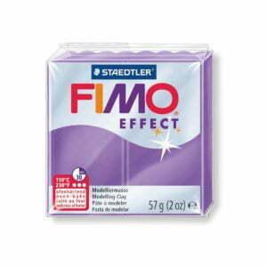 604 Purple Translucent Fimo