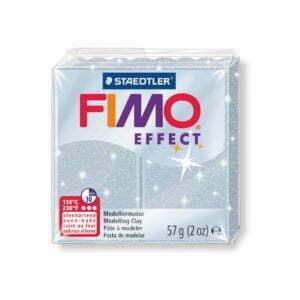 812 Silver Glitter Fimo