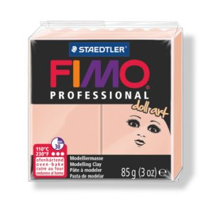 432 Rosé Fimo Doll Art