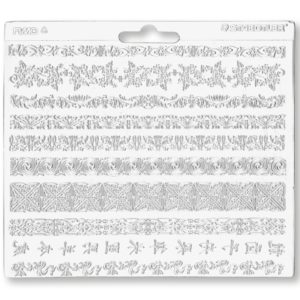 Decorative trims texture sheet – Fimo
