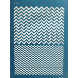 Chevron Silk Screen – Moiko