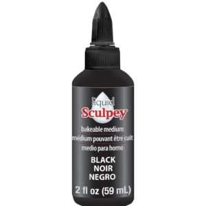 59 ml Liquid Sculpey – Svart