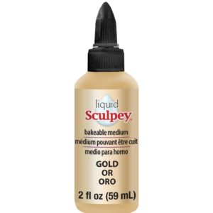 59 ml Liquid Sculpey – Gold