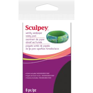 Sculpey Sandpaper kit
