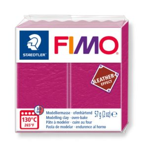 229 Berry Fimo Leather