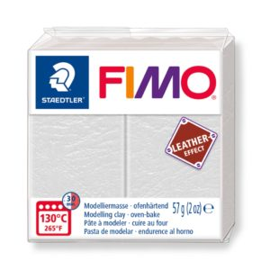 029 Elfenben Fimo Leather