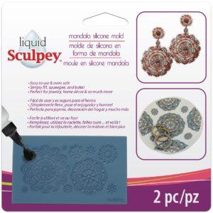 Mold for lace like pattern Mandala