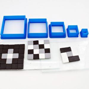 5 st Utstickare Kvadrat – Hobbyrian