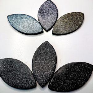 080 Silver Glitter Translucent Cernit