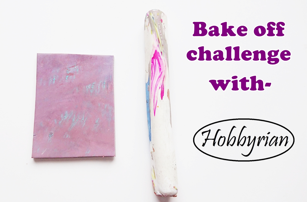 I challenge you to a polymer clay bake off!