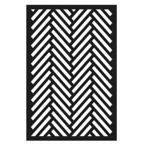 Stencil Herringbone 10×15 cm