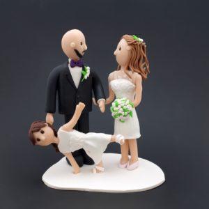 Personlig Cake Topper / Tårtfigur